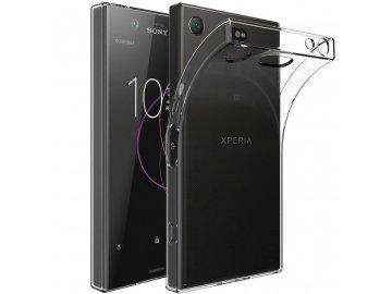 Silikónový kryt (obal) pre Sony Xperia XZ1 - clear (priesvitný)