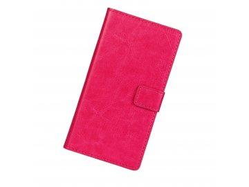 Flip Case (puzdro) pre Samsung Galaxy J3 2016 (J320F) - ružové