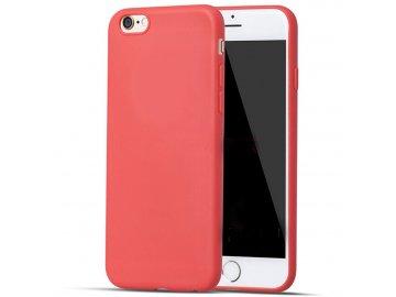 Silikónový kryt (obal) pre Iphone 6/6S - red (červený)