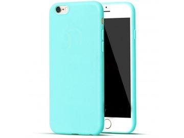 Silikónový kryt (obal) pre Iphone 6/6S - tyrkys (tyrkysový)