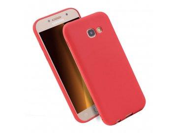 Silikónový kryt (obal) pre Samsung Galaxy J3 2017 (J330F) - červený