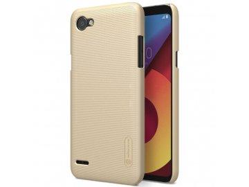Nillkin plastový kryt (obal) pre LG Q6  - gold (zlatý)