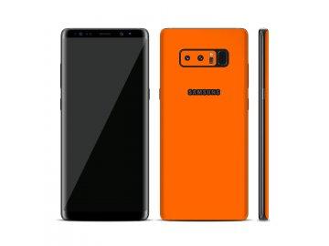 Dizajnová wrap fólia pre Iphone 6S - oranžová