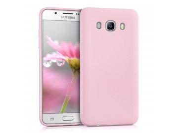 Silikónový kryt (obal) pre Samsung Galaxy J5 2016 (J510F) - ružový