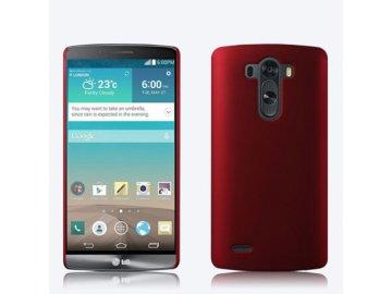 Plastový kryt (obal) pre LG G3 - červený