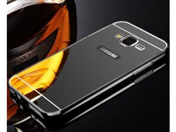 Hliníkový kryt (obal) pre Samsung Galaxy J3 2016 (J310F) - čierny
