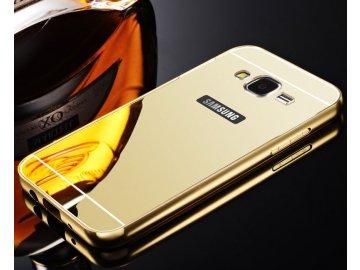 Hliníkový kryt (obal) pre Samsung Galaxy J3 2016 (J310F) - zlatý