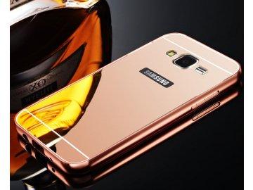 Hliníkový kryt (obal) pre Samsung Galaxy J3 2016 (J310F) - rose gold