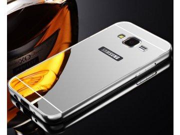 Hliníkový kryt (obal) pre Samsung Galaxy J3 2016 (J310F) - strieborný