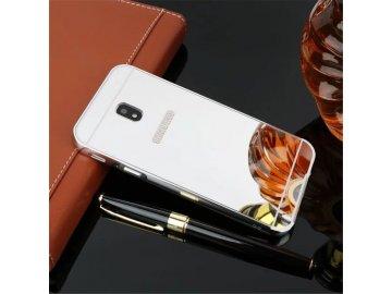 Hliníkový kryt (obal) pre Samsung Galaxy J3 2017 (J330F) - strieborný