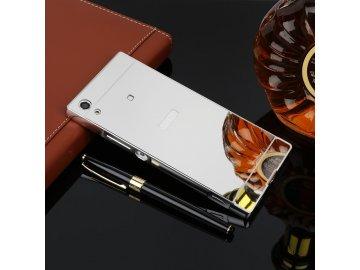 Hliníkový kryt (obal) pre Sony Xperia XA1 - strieborný