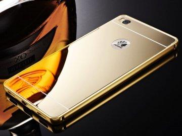 Hliníkový kryt (obal) pre Sony Xperia M4 Aqua - zlatý
