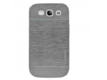 Hliníkový kryt (obal) pre Samsung Galaxy S4 (i9505) - strieborný