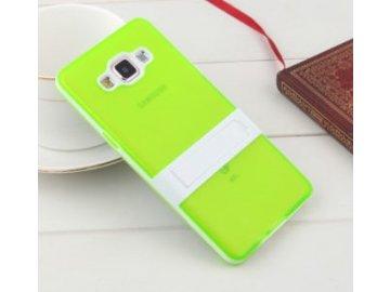 Silikónový kryt (obal) pre Samsung Galaxy S6 Edge - zelený (green)