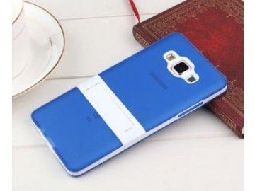Silikónový kryt (obal) pre Samsung Galaxy S6 Edge - modrý (blue)