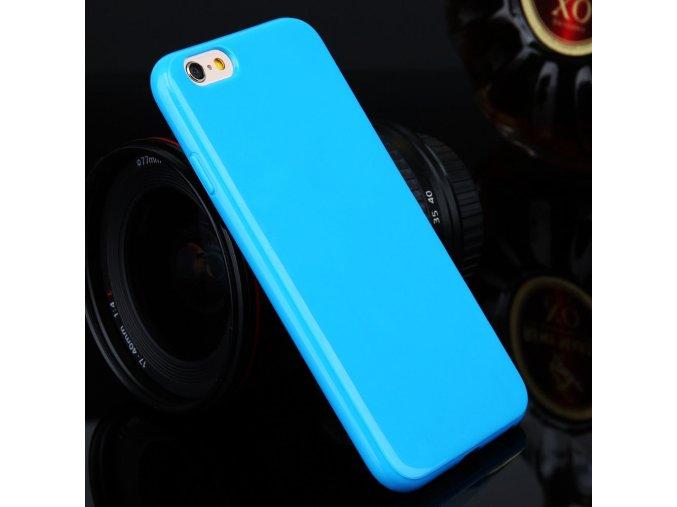 Silikónový kryt (obal) pre Iphone 4/4S - blue (modrý)