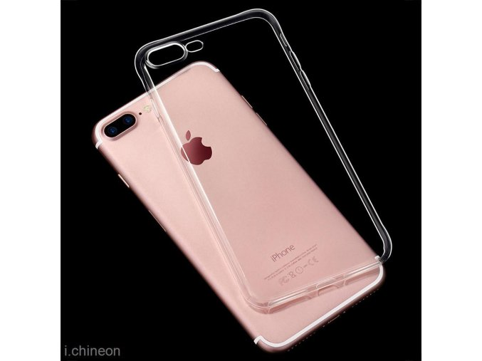 Silikónový kryt (obal) pre Iphone 7 - priesvitný