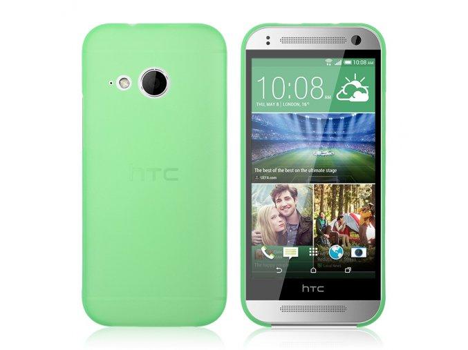 Plastový kryt (obal) pre HTC One mini 2 (M8) - zelený (green)