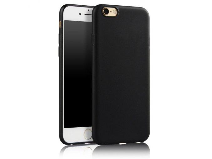 Silikónový kryt (obal) pre Iphone 6/6S - black (čierny)