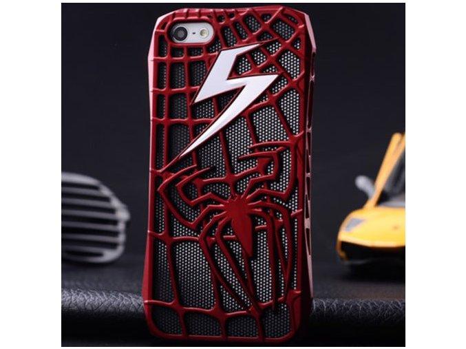 Spider-man kryt (obal) pre Iphone 5/5S/SE - červený