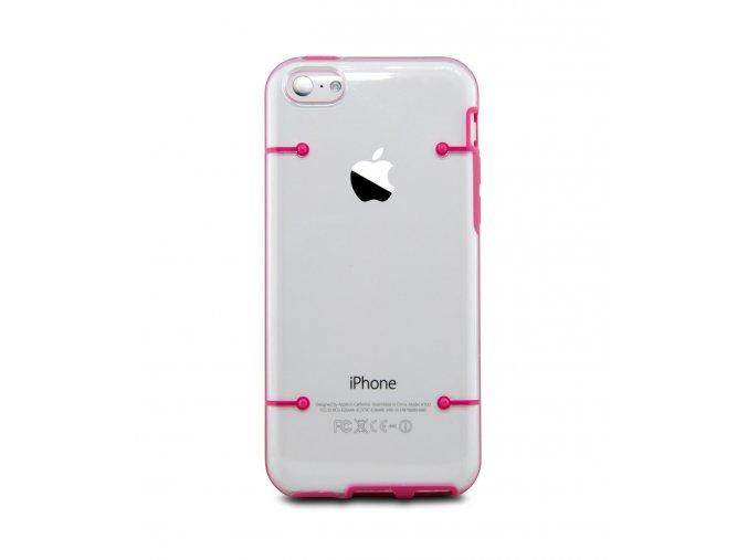 Plastový kryt pre Iphone 4/4S - pink (ružový)