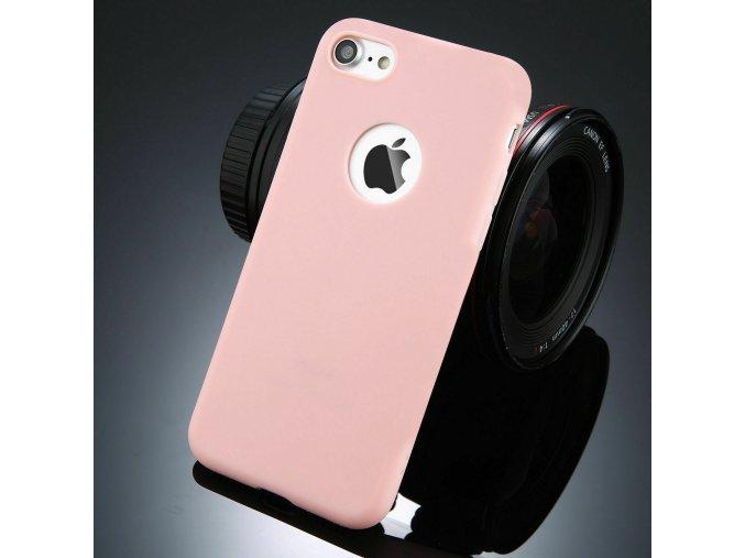 Silikónový kryt (obal) pre Iphone 6/6S - pink (ružový)