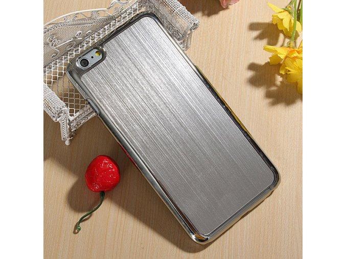 iPhone 6+/6S+ - hliníkový kryt (obal) - silver (strieborný)