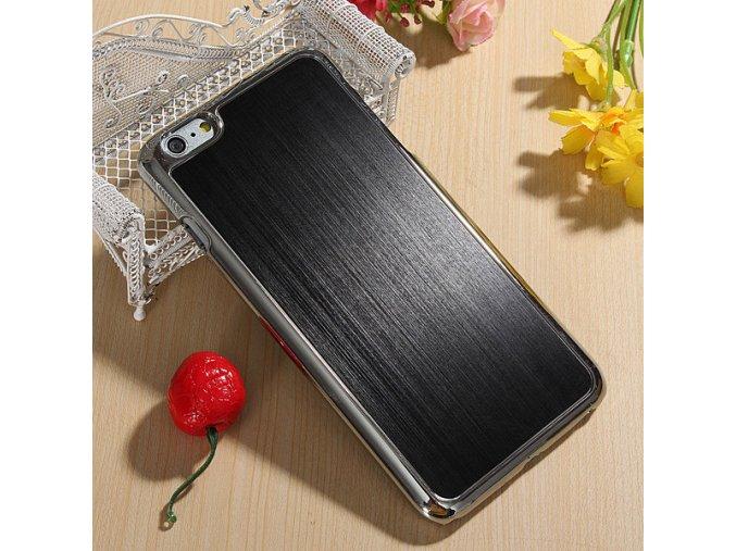 iPhone 6+/6S+ - hliníkový kryt (obal) - black (čierny)