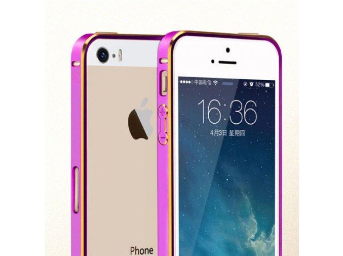 Ultra Slim - hliníkový kryt (obal) pre Iphone 4/4S - ružovo-zlatý