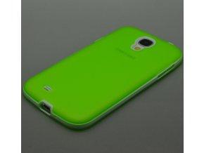 Silikónový kryt (obal) pre Samsung Galaxy S4 - green (zelený)