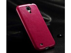 Silikónový kryt (obal) pre Samsung Galaxy S4 - dark pink (tmavo ružový)