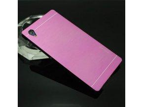 Hliníkový kryt (obal) pre Sony Xperia M4 aqua - pink (ružový)