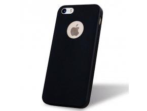 Silikónový kryt (obal) pre Iphone 5/5S/SE - black (čierny)