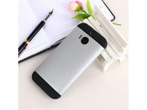 Plastový kryt (obal) pre HTC One M9 - grey (šedý)