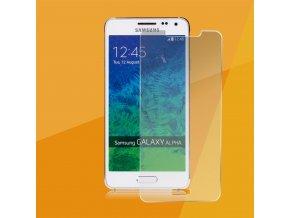 Tvrdené sklo pre Samsung Galaxy Alpha