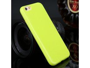 Silikónový kryt (obal) pre Samsung Galaxy Note 4 (N910) - zelený