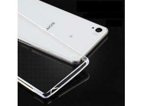 Silikónový kryt (obal) pre Sony Xperia M4 aqua - clear (priesvitný)