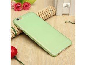 iPhone 6+/6S+ - ultra tenký plastový kryt (obal) - green (zelený)