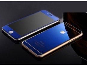 Tvrdené sklo pre prednú aj zadnú stranu - iPhone 6/6S - modré (blue)
