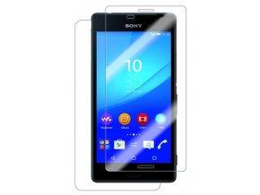 Tvrdené sklo pre Sony M4 Aqua - predné+zadné
