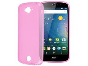 Silikónový kryt (obal) pre Acer Liquid Z530 - pink (ružový)