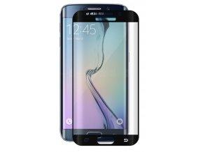 Tvrdené sklo pre Samsung Galaxy S7 Edge - čierne (black)