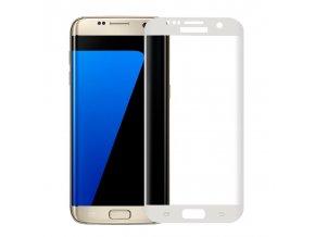 3D tvrdené sklo pre Samsung Galaxy S7 Edge - biele