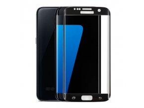 3D tvrdené sklo pre Samsung Galaxy S6 Edge - čierne