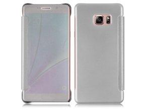 Flip Case (puzdro) pre Samsung Galaxy Note 7 - strieborné (silver)