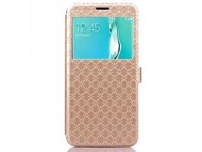 Flip Case (puzdro) pre Samsung Galaxy Note 7 - zlaté (gold)