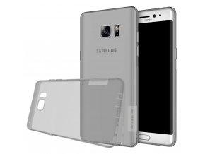 Silikónový Nillkin kryt (obal) pre Samsung Galaxy Note 7 - sivý (gray)