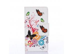 Flip Case (puzdro) pre Sony Xperia Z5 - motýle