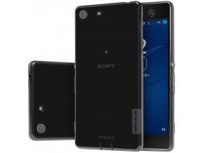 Silikónový Nillkin kryt (obal) pre Sony Xperia M5 - sivý (gray)