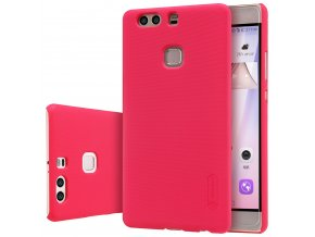 Plastový Nillkin kryt (obal) pre Huawei Ascend P9 - červený (red)